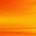 Mute Sunset Print by John Edwards