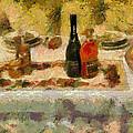 My New Year Dinner  by Yury Malkov