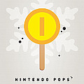 My Nintendo Ice Pop - Gold Coin by Chungkong Art