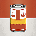 My Star Warhols Luke Skywalker Minimal Can Poster by Chungkong Art