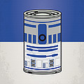 My Star Warhols R2d2 Minimal Can Poster by Chungkong Art