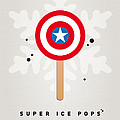My Superhero Ice Pop - Captain America by Chungkong Art