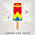 My Superhero Ice Pop - Wonder Woman by Chungkong Art