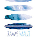 My Surfspots Poster-1-jaws-maui by Chungkong Art