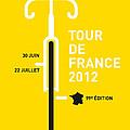 My Tour De France 2012 Minimal Poster by Chungkong Art