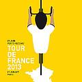 My Tour De France Minimal Poster by Chungkong Art