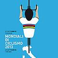 My World Championships Minimal Poster by Chungkong Art