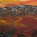Mystic Desert by Linda Eversole