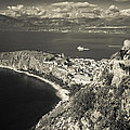 Nafplio Peninsula Sepia by David Waldo