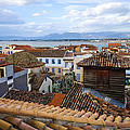 Nafplio Rooftops by David Waldo