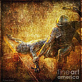 Nailed To The Cross Via Dolorosa 11 by Lianne Schneider