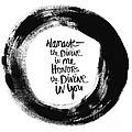 Namaste Enso by Linda Woods