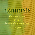 Namaste by Michelle Calkins