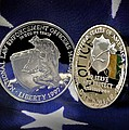 National Law Enforcement Memorial Mint by Gary Yost