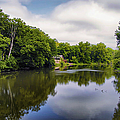 Nature Center On Salt Creek by Thomas Woolworth