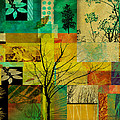 Nature Patchwork by Ann Powell
