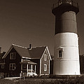 Nauset Lighthouse by Skip Willits