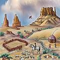 Navajo Sheepherder - Age 11 by Dawn Senior-Trask