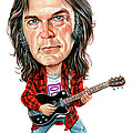 Neil Young by Art