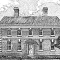 Nelson House In Yorktown Virginia II Of IIi by Stephany Elsworth