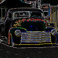 Neon 1948 Chevy Pickup by Steve McKinzie