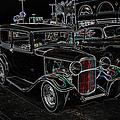 Neon Car Show by Steve McKinzie