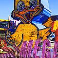 Neon Duck by Garry Gay