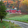 New England Farm Square by Bill Wakeley