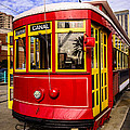 New Orleans Streetcar  by Paul Velgos
