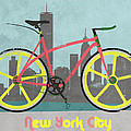 New York Bike by Andy Scullion