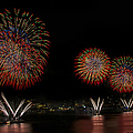 New York City Celebrates The Fourth by Susan Candelario