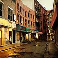 New York City - Rainy Afternoon - Doyers Street by Vivienne Gucwa