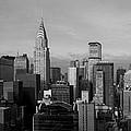 New York City Skyline Print by Diane Diederich