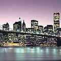 New York City Skyline Print by Jon Neidert
