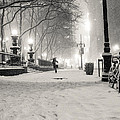 New York City Winter Night by Vivienne Gucwa
