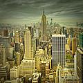 New York Colour Study No.1 by Melanie Viola