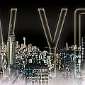 New York Digital-art No.2 by Melanie Viola