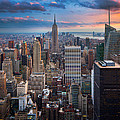 New York New York Print by Inge Johnsson