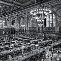 New York Public Library Main Reading Room X by Clarence Holmes