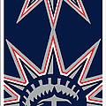 New York Rangers by Tony Rubino