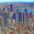 New York Skyline 20130430v3 by Wingsdomain Art and Photography