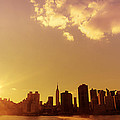 New York Sunset Skyl...