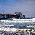 Newport Beach Pier In Orange County California by Paul Velgos