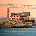 Newport Bridge View ...