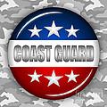 Nice Coast Guard Shield 2 by Pamela Johnson
