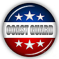 Nice Coast Guard Shield by Pamela Johnson