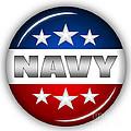 Nice Navy Shield by Pamela Johnson