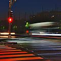 Night Streaks by Joann Vitali