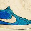 Nike Blazer Turq 2 by Alfie Borg