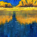 Nisqually Reflection by Nancy Merkle